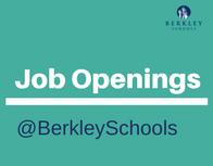 Job Openings at Berkley Schools