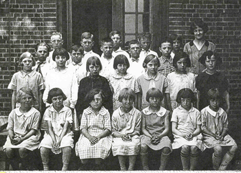 Angell School Photo of all 24 students and teacher.