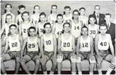 1958-59 Basketball Team